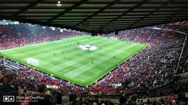 Old Trafford, vak: NE3425, rij: 25, stoel: 114