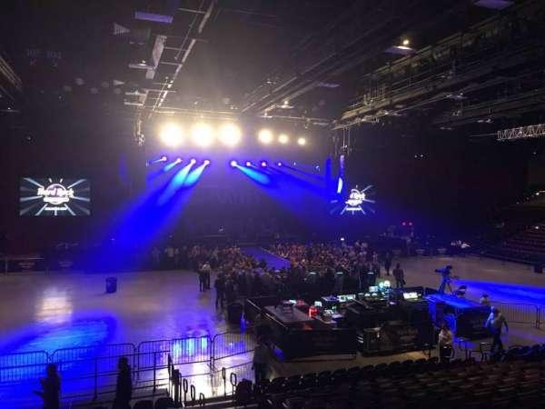 Hard Rock Live at Etess Arena, vak: 209, rij: O, stoel: 4
