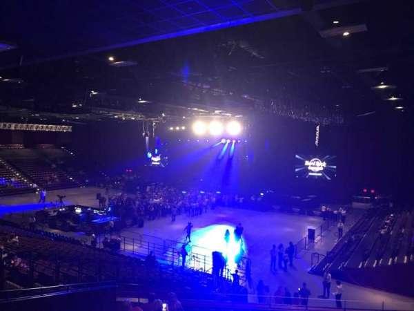 Hard Rock Live at Etess Arena, vak: 304, rij: I, stoel: 31