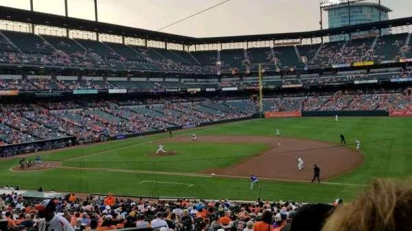 Oriole Park at Camden Yards, vak: 15, rij: 4, stoel: 14