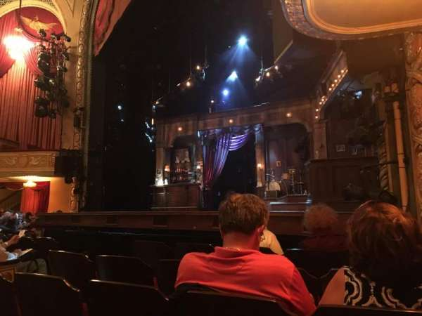 Bernard B. Jacobs Theatre, vak: Orchestra, rij: E, stoel: 14