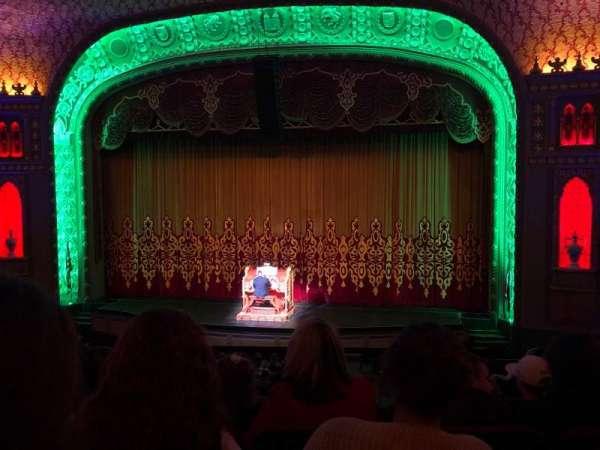 Tennessee Theatre, vak: Balcony Right Center, rij: EE, stoel: 14