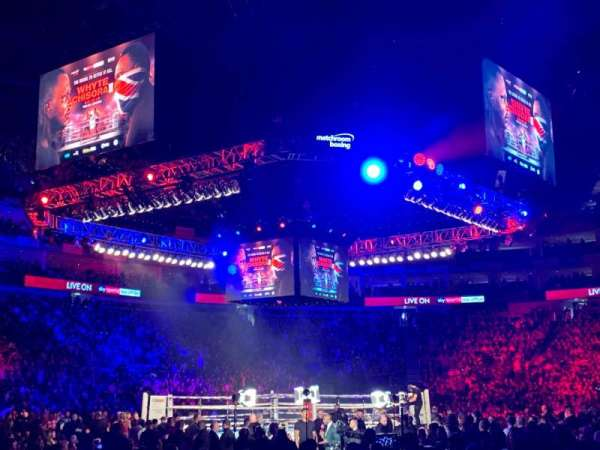 The O2 Arena, vak: 101, rij: D, stoel: 30