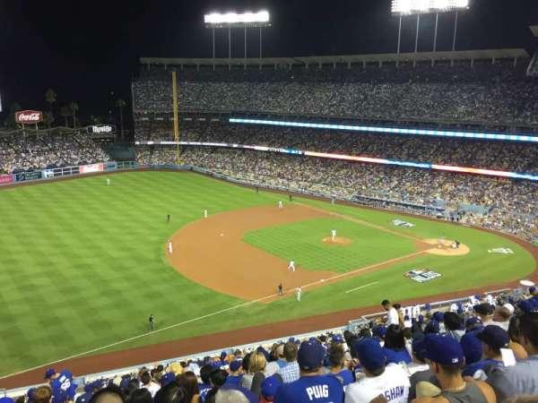 Dodger Stadium, vak: 31RS, rij: T, stoel: 17