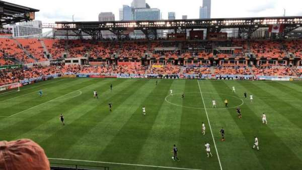 BBVA Compass Stadium, vak: 226, rij: J, stoel: 21