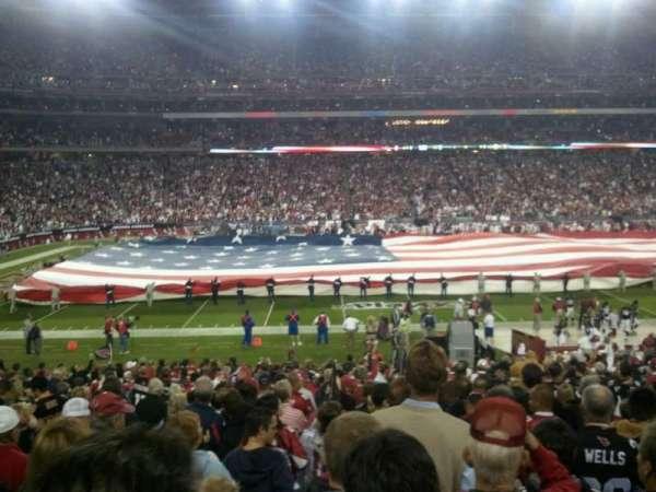 State Farm Stadium, vak: 111, rij: 13, stoel: 07