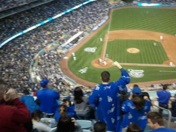 Dodger Stadium, vak: upper deck, rij: 10, stoel: 234