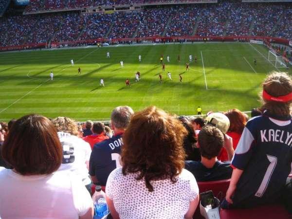 Gillette Stadium, vak: CL7, rij: 11, stoel: 9