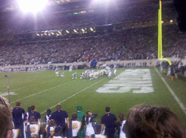Spartan Stadium, vak: 5, rij: 2, stoel: 5