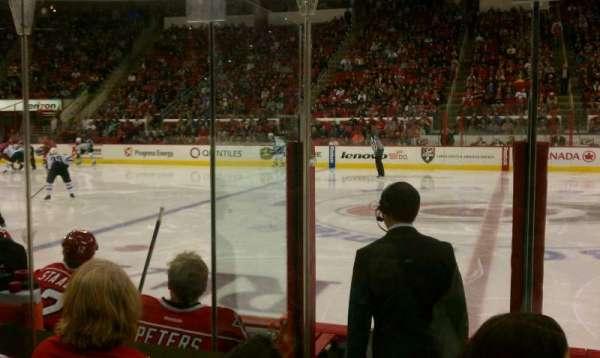 PNC Arena, vak: 104, rij: 3, stoel: 4