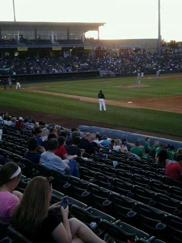 CommunityAmerica Ballpark, vak: 113, rij: 12, stoel: 1