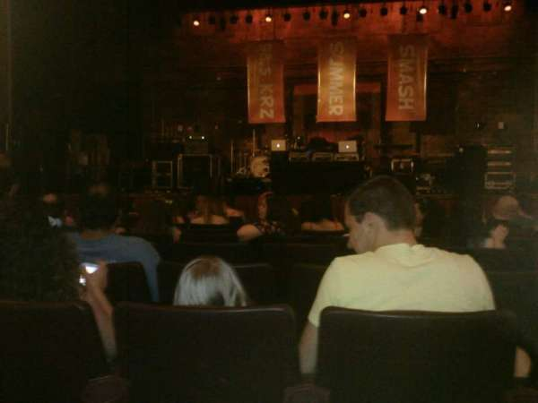 F.M. Kirby Center, vak: Center orchestra, rij: H, stoel: 7