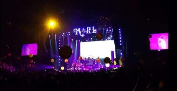 Staples Center, vak: 102, rij: 2, stoel: 6