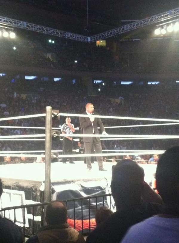 Madison Square Garden, vak: 10, rij: 4, stoel: 17