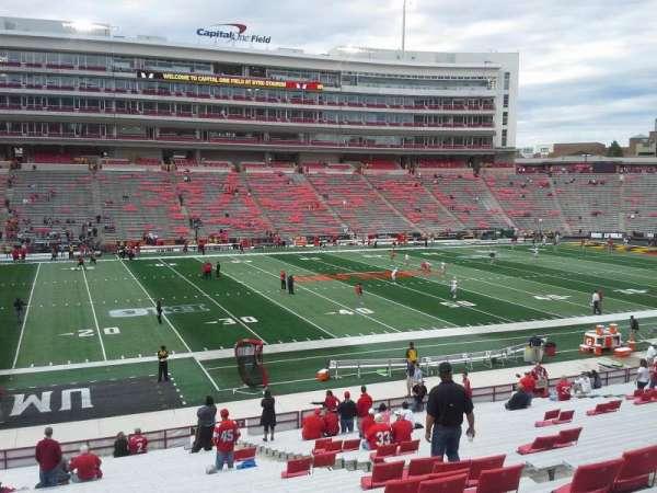 Maryland Stadium, vak: 3, rij: JJ, stoel: 18-19