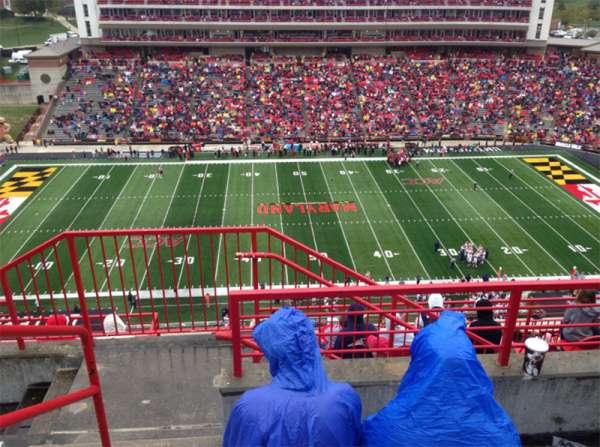 Maryland Stadium, vak: 306, rij: L, stoel: 1