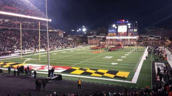 Maryland Stadium, vak: 17, rij: DD, stoel: 20