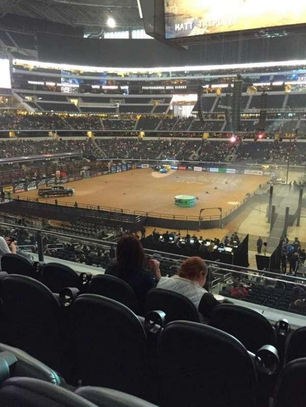 AT&T Stadium, vak: C209, rij: 4, stoel: 11