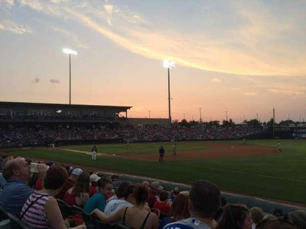 CommunityAmerica Ballpark, vak: 113, rij: 9, stoel: 18