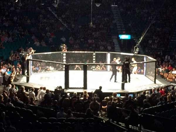 MGM Grand Garden Arena, vak: 19, rij: S, stoel: 13
