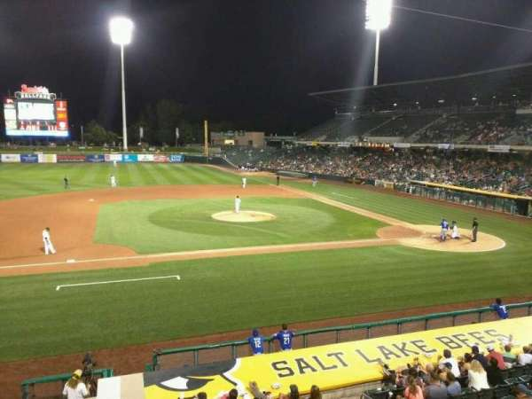 Smith's Ballpark, vak: 113, rij: 1, stoel: 1