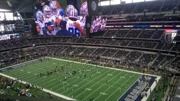 AT&T Stadium, vak: 437, rij: 1, stoel: 5