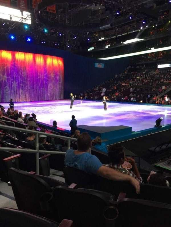 State Farm Arena, vak: 112, rij: G, stoel: 10