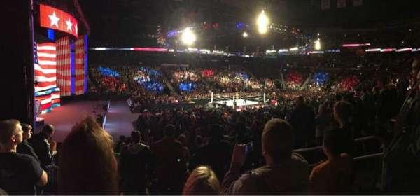 State Farm Arena, vak: 117, rij: P, stoel: 5