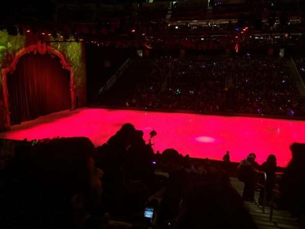 Prudential Center, vak: 19, rij: 19, stoel: 1