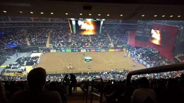 Madison Square Garden, vak: 210, rij: 17, stoel: 22