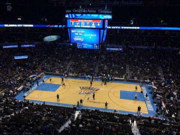Chesapeake Energy Arena, vak: 310