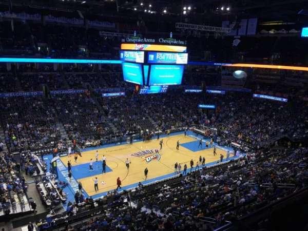 Chesapeake Energy Arena, vak: 311