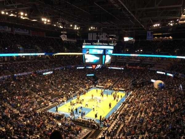 Chesapeake Energy Arena, vak: 314
