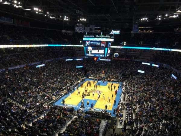 Chesapeake Energy Arena, vak: 315