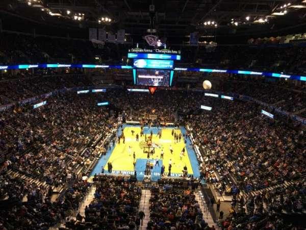 Chesapeake Energy Arena, vak: 316