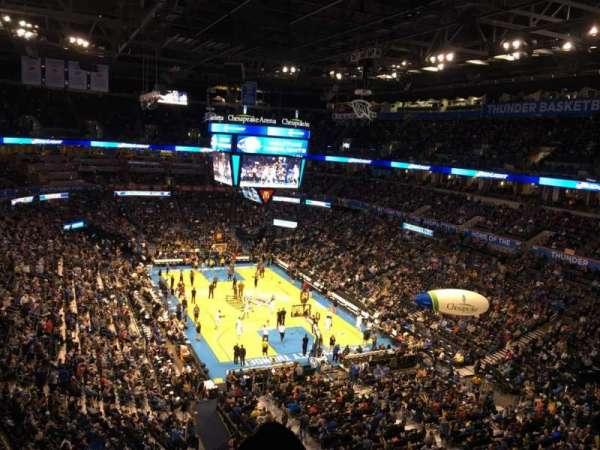 Chesapeake Energy Arena, vak: 318