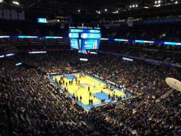 Chesapeake Energy Arena, vak: 319