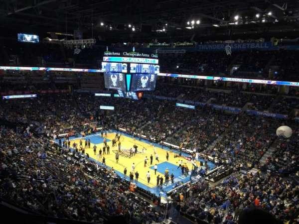 Chesapeake Energy Arena, vak: 320