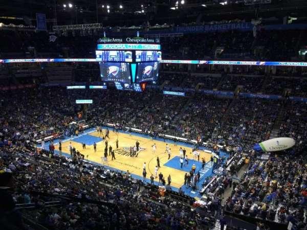 Chesapeake Energy Arena, vak: 321