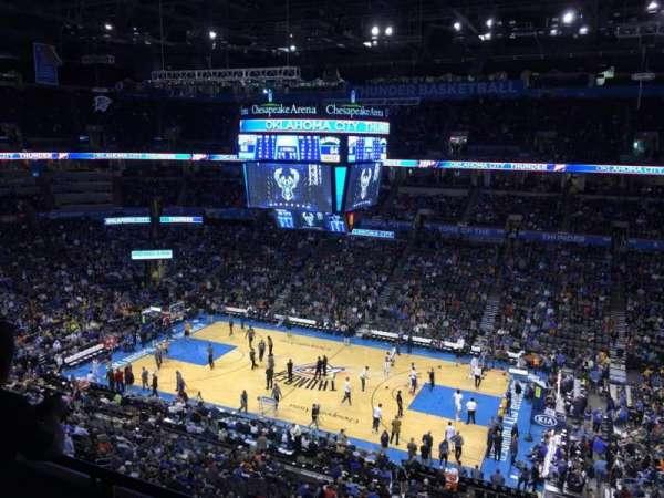 Chesapeake Energy Arena, vak: 322