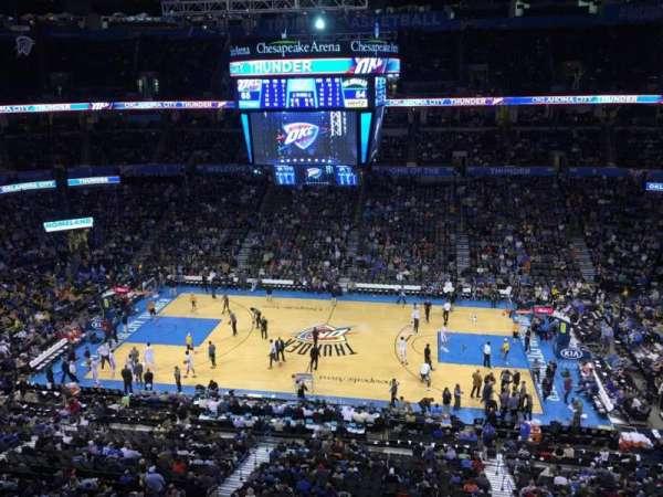 Chesapeake Energy Arena, vak: 323
