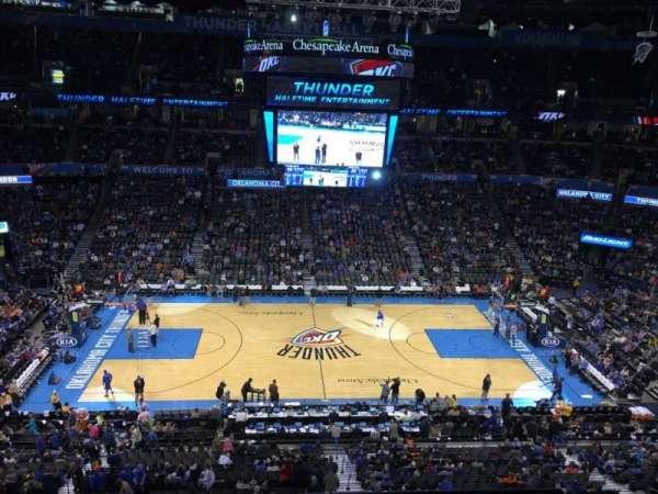 Chesapeake Energy Arena, vak: 324