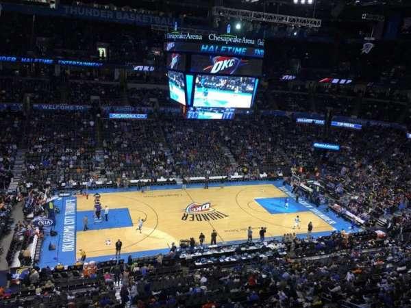 Chesapeake Energy Arena, vak: 325