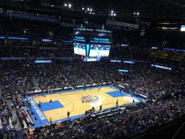 Chesapeake Energy Arena, vak: 326