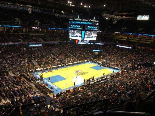 Chesapeake Energy Arena, vak: 327
