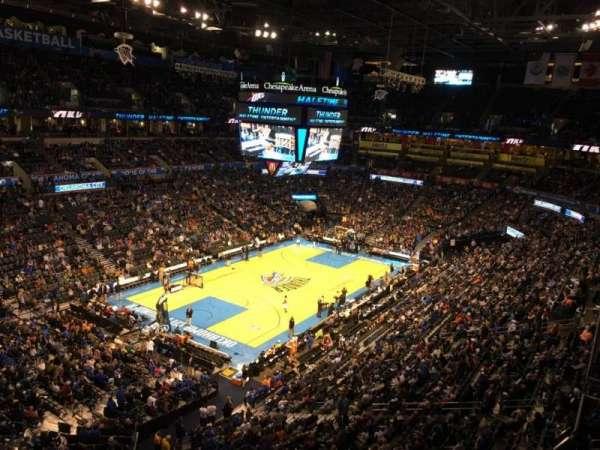 Chesapeake Energy Arena, vak: 328