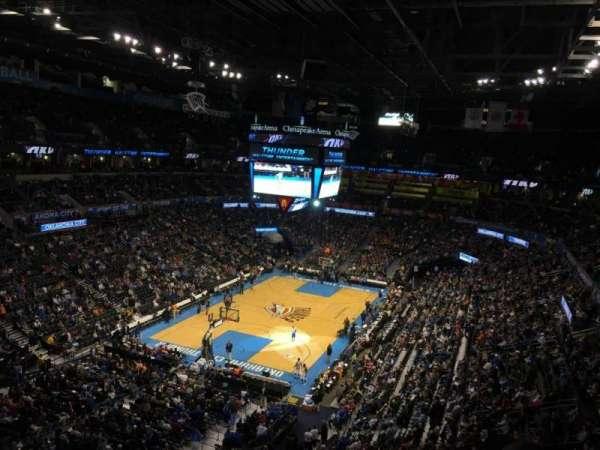 Chesapeake Energy Arena, vak: 329