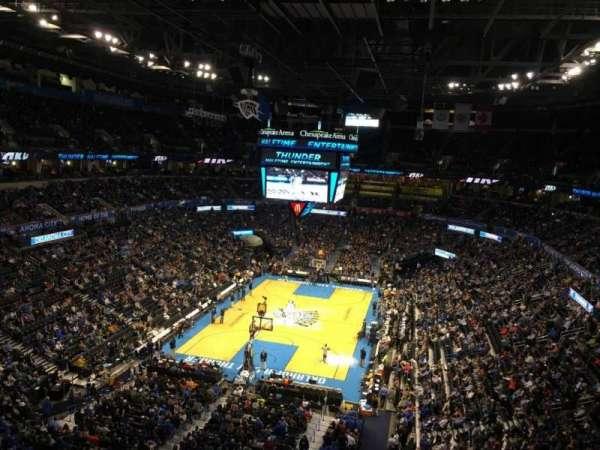 Chesapeake energy arena, vak: 330