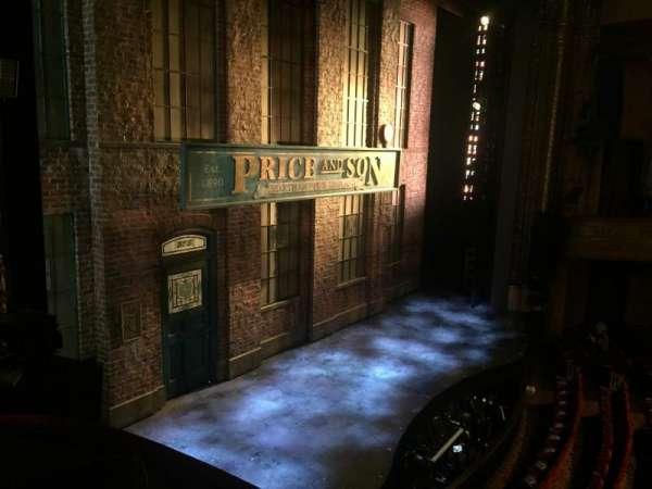 Al Hirschfeld Theatre, vak: Left Box, rij: D