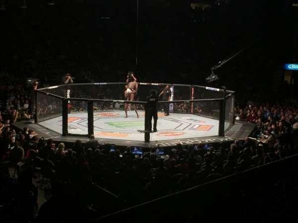 MGM Grand Garden Arena, vak: 17, rij: R, stoel: 1